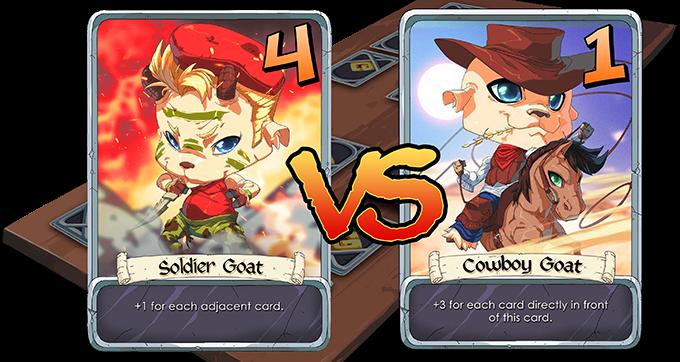 Soldier Goat wins!