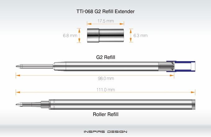 Calendar Extender Design : Tti bamboo pen edc by inspirs design —kickstarter