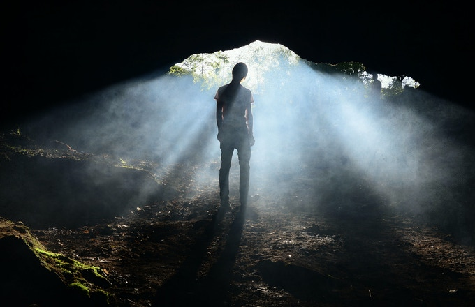 Sometimes the occult underground is literally underground. Sometimes it's not.