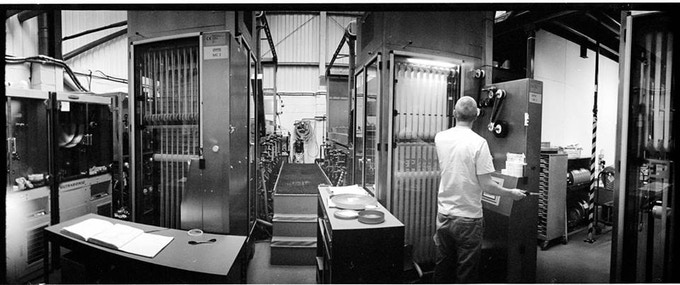 This is the lab we are using - at iDailies. These are the same machines that processed film for Star Wars and Spectre. (Widelux F7 Kodak 400TX)