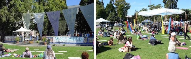 Snapshots from the annual Watershed Environmental Poetry Festival in Berkeley, Calif., one of the many events presented by Poetry Flash.