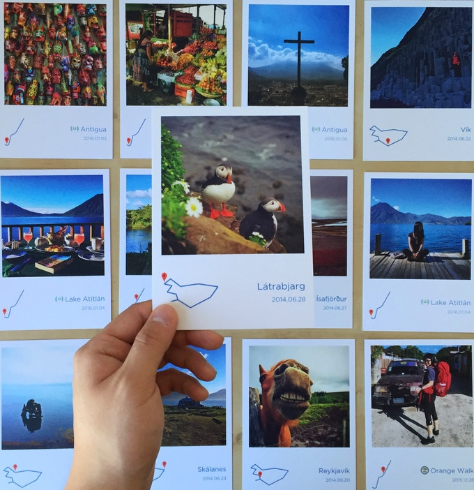 Path - Document your memorable travel by Junyue Hua