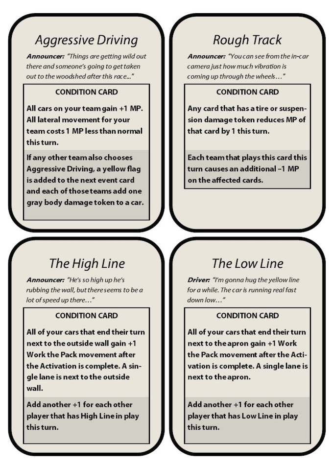 CONDITIONAL CARDS!