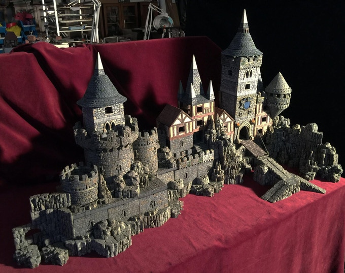 Dwarven Forge's Castles: 3-D Modular Terrain for Gamers by