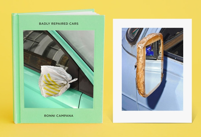 Badly Repaired Cars - collector's edition and print (ed. of 150)