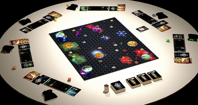 Up to 6 or even 8 players can fight for the galaxy!