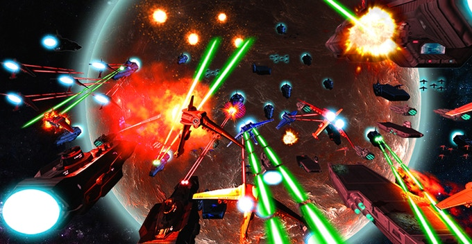 Wage epic space battles!