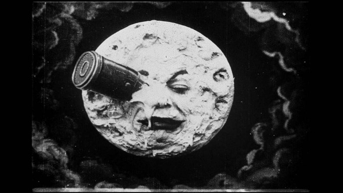 """Georges Méliès, THE pioneer of the art of special effects, created the much-loved classic """"Le Voyage Dans La Lune"""" (1902)"""