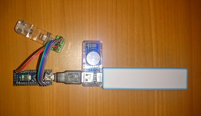 Arduino and TapUSB