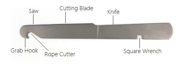 Vulcan Titanium Knife