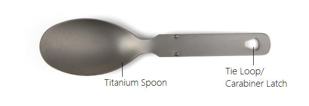 Vulcan Titanium Spoon
