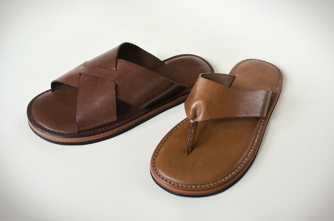 ed78647d906a Hand made leather sandals with upcycled car tire soles. by KENDAL ...