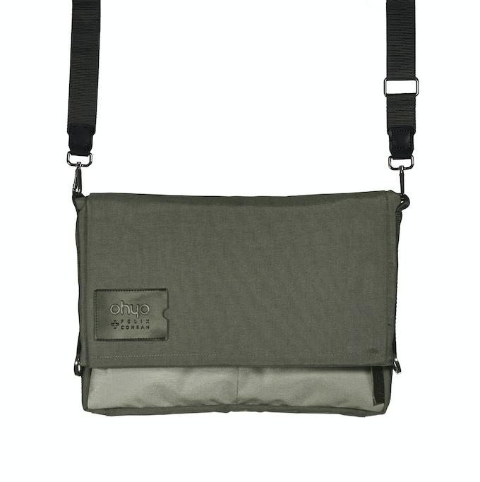 Grey Bag in Messenger Mode