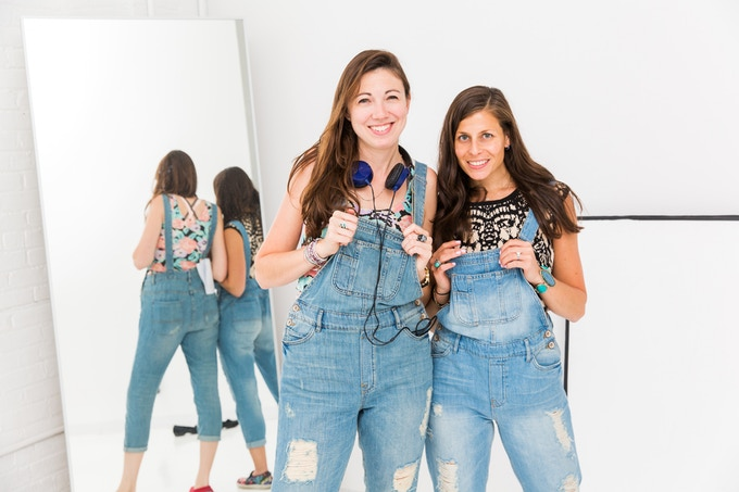THE CREATORS...TWO BADASS WOMEN MAKING FILMS IN OVERALLS