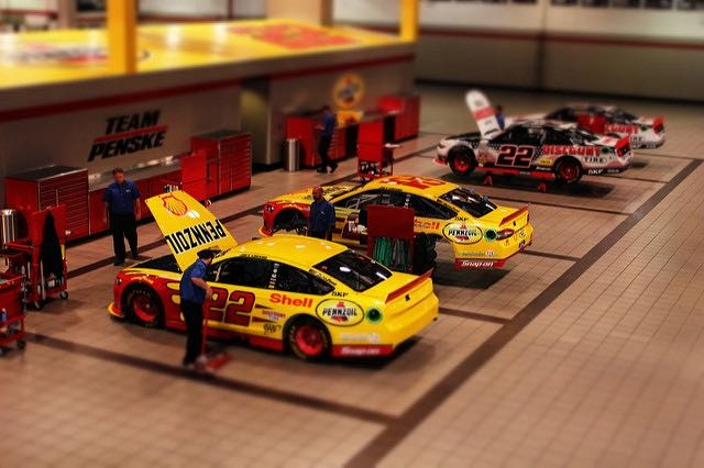 Penske Racing Shop, North Carolina