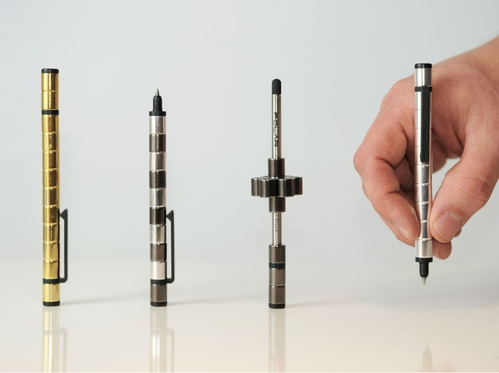 POLAR is the world's first modular pen made from MAGNETS. This beautifully simple product will transform into endless possibilities.