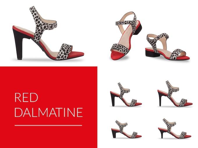 122d32e21ae Farbe Colour  Rot im Dalmatinerlook  Red in dalmatine look  Schnitt Cut   schmal bis normal  slim to average  verfügbar in den Größen available in  the sizes ...