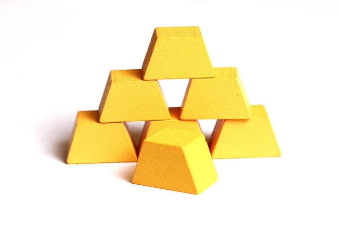 Golden Treasure Blocks