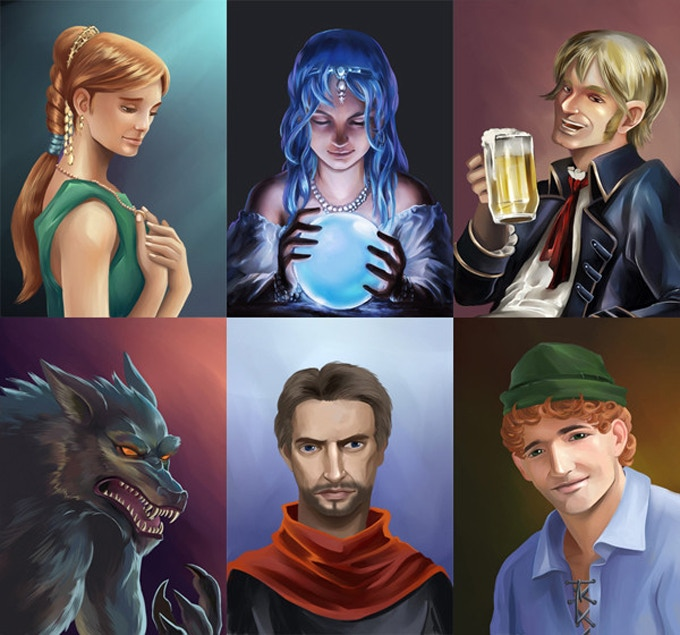 Ultimate Werewolf Deluxe Edition illustrations