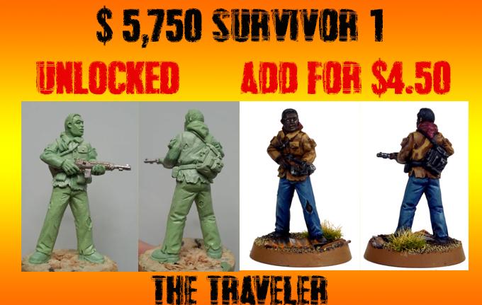 "Stretch Goal 1 - ""The Traveler"""