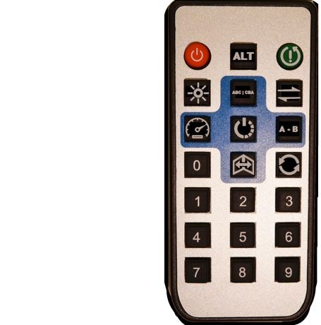 Prototype of the remote control