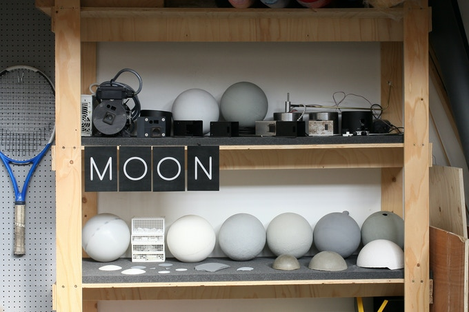 Lunar colour samples