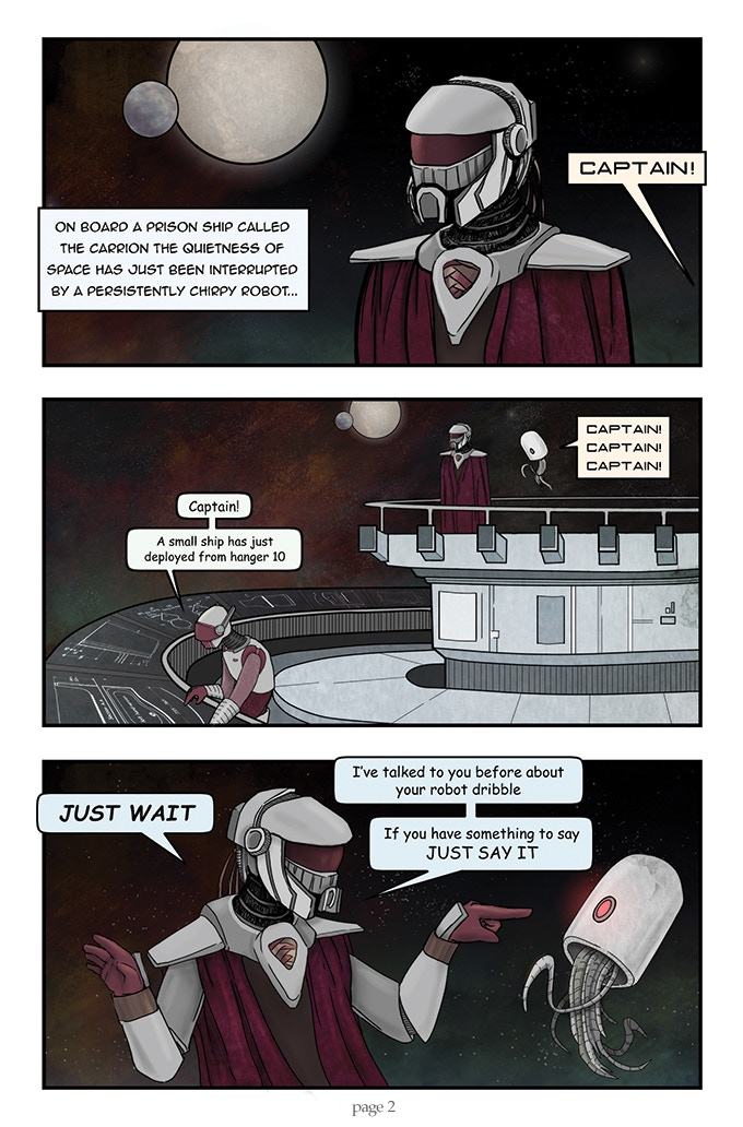 Spectral Void issue #1 page 2