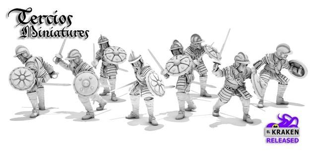 Shield Bearers Pack (Rodeleros)