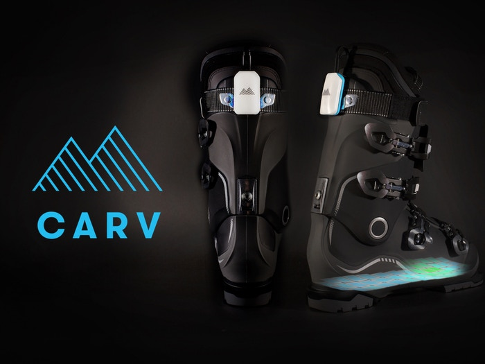 Carv analyses your skiing technique in real-time providing feedback on the slopes and detailed analysis between runs