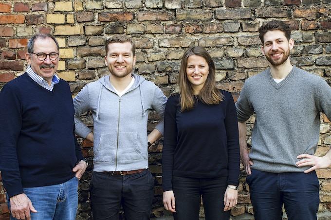 The Otto Wilde Grillers: Otto, Alex, Julia and Nils