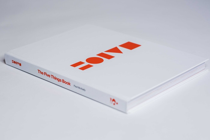 Five Things. A design-led book; exploring over 100 people's five favourite things, along with the personal reasons for their choices.