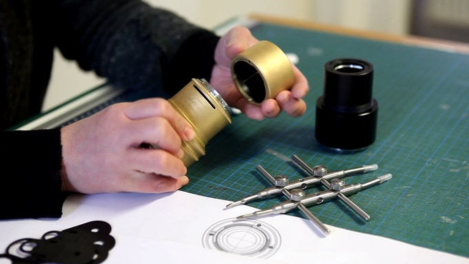 The Daguerreotype Achromat Art Lens, handcrafted at a small manufactory in Central China