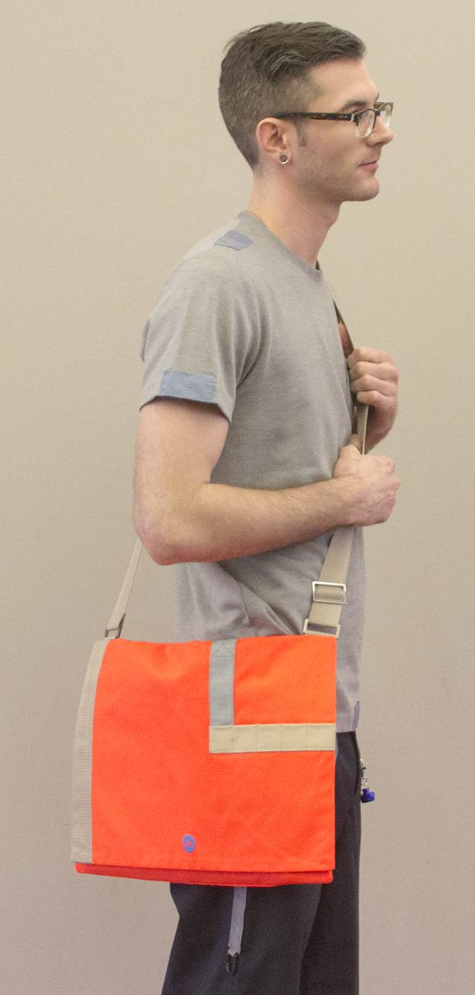 Our messenger bag is stylish and beyond functional