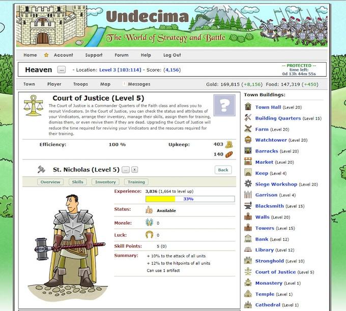Hire Commanders unique for each Town Class