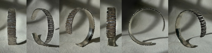 Cuff with personal engraving from Tabor - Villalobos