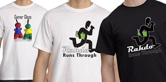 T-shirts!! Represent in sizes S-XXXL with one of the three options shown!