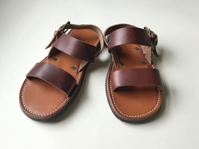 8c17112162b9 The current humanitarian sandal design we are making and distributing to  school children in Rwanda.