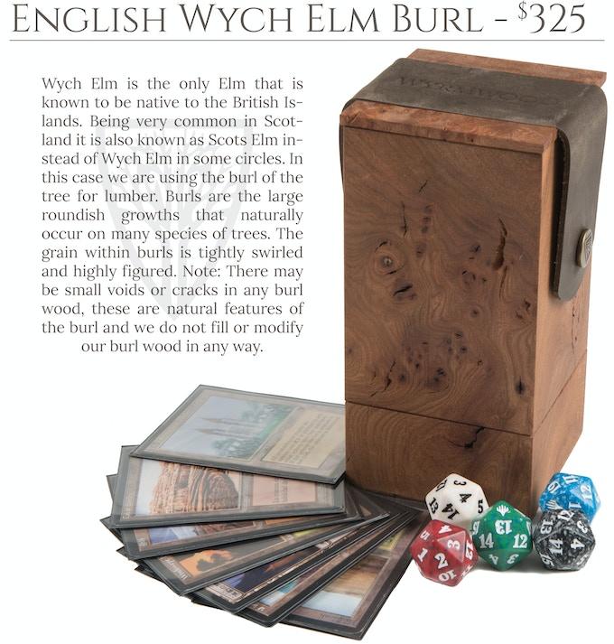 English Wych Elm Burl