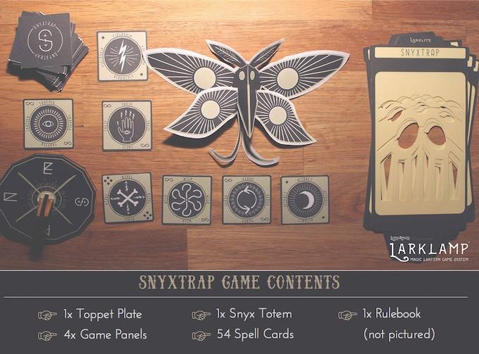 Larklamp Game Lantern & Snyxtrap Reward