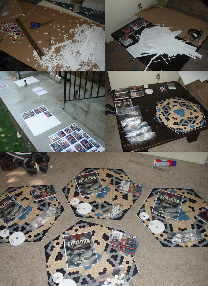 Building several of the Beta boards that were shipped all over the country.