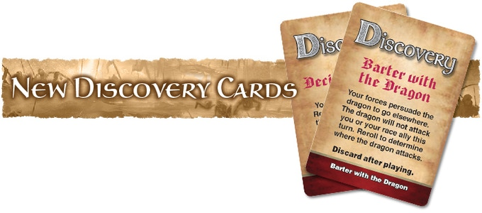 2 New Red Discovery Cards have been awarded thanks to backers liking Battleborn Legacy on Facebook and becoming fans on Board Game Geek.