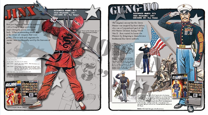 Two-page spread for Jinx and Gung-Ho