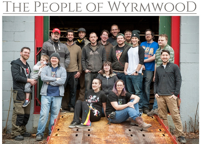 Thank you from everyone at Wyrmwood. *Nick not pictured.