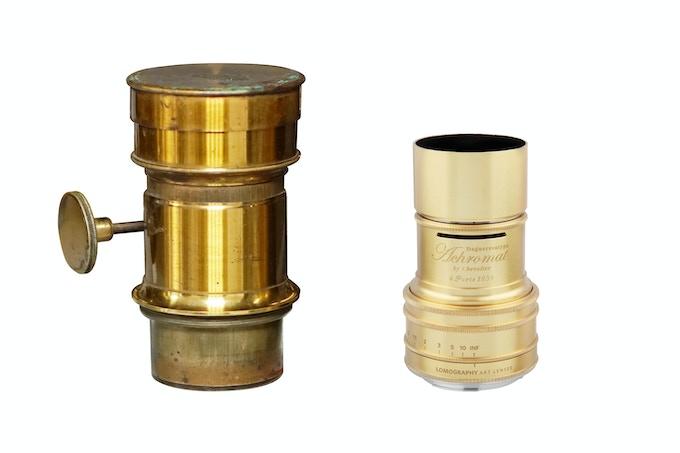1839 meets 2016: Chevalier's original achromat lens, and the Lomography Daguerreotype Achromat 2.9/64 Art Lens