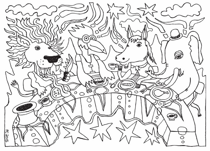 Animals' Picnic.