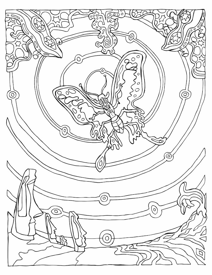 Phil Cheney's Coloring Book by phil cheney —Kickstarter