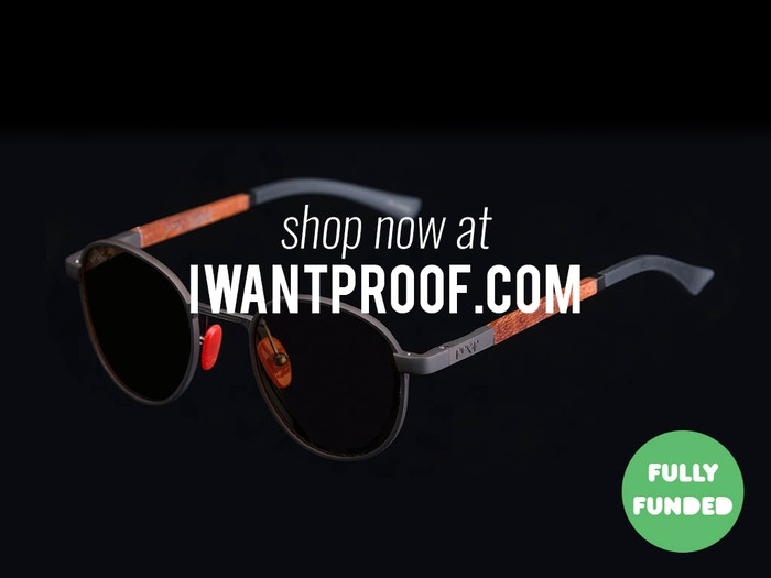 Proof continues to pioneer sustainable eyewear, creating products from sustainable woods, skate decks, cotton-based acetate & now...