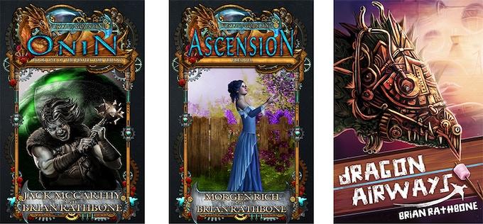 Three New Fantasy Books