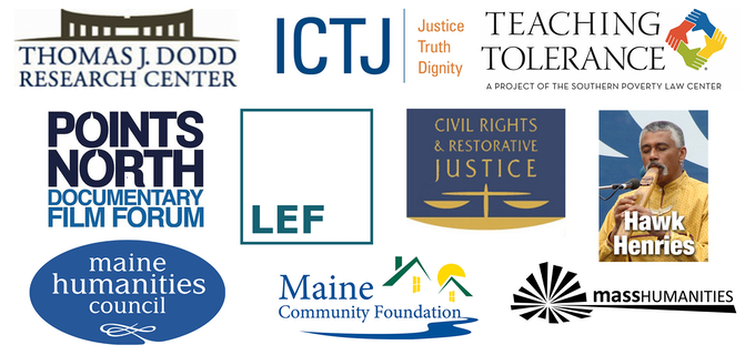 ... Maine Humanities Council, Mass Humanities, Points North Documentary Film Forum, Teaching Tolerance, and Thomas J. Dodd Research Center.