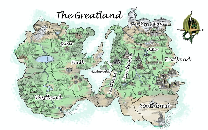 The Greatland Map